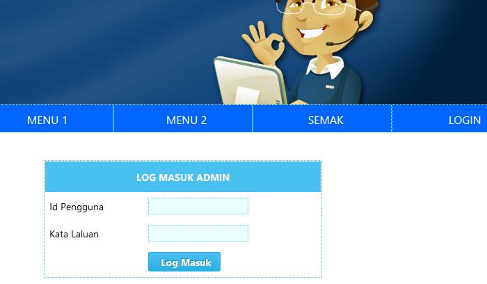Sistem Pengurusan Markah Online