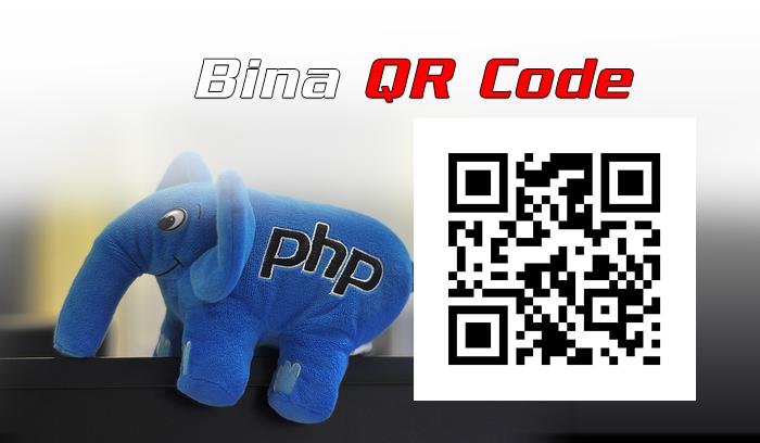 Bagaimana bina QR code dalam PHP